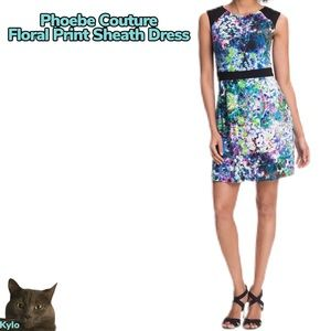 Phoebe Couture Lined Floral Dress